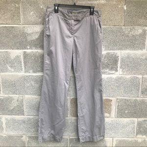 J. Crew City Fit Grey Trouser Pants. Sz T10. NWOT